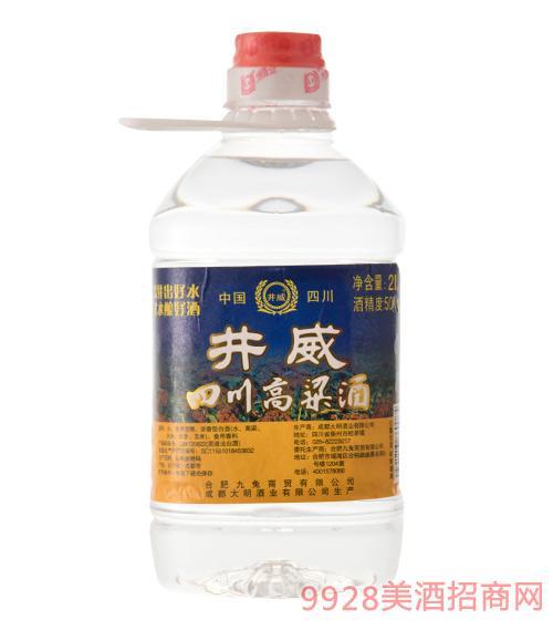 井威四川高粱酒50度2L