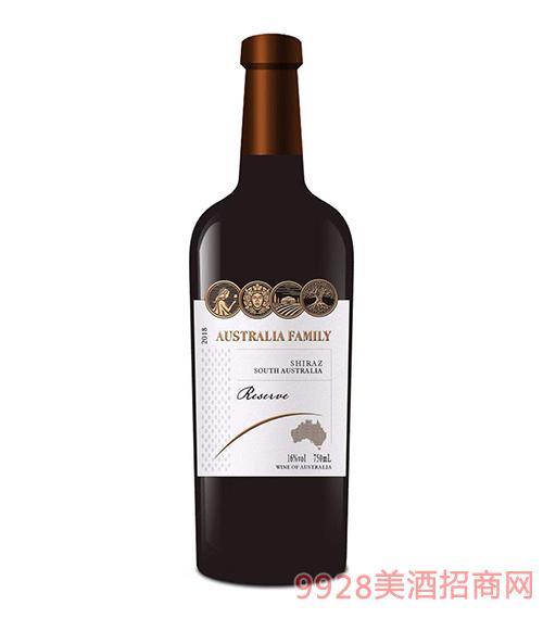 澳族酒�f珍藏西拉葡萄酒