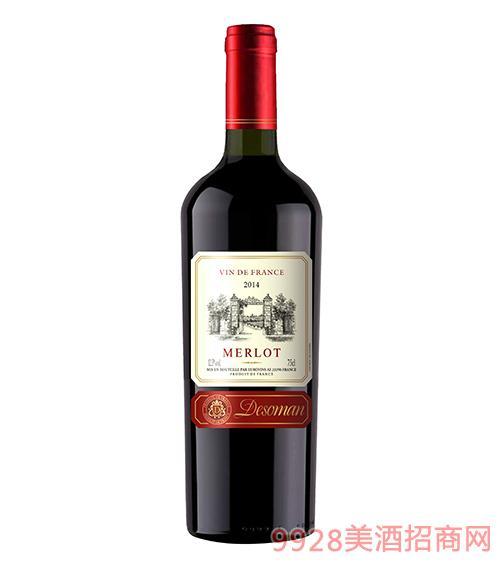 德索曼美乐葡萄酒