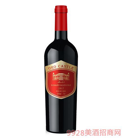 欧洛城堡美乐葡萄酒