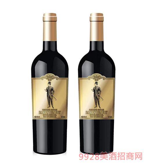 伯爵红颜男爵葡萄酒