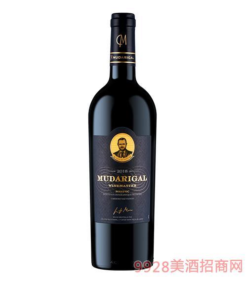 张裕木歌大师干红葡萄酒13度750ml
