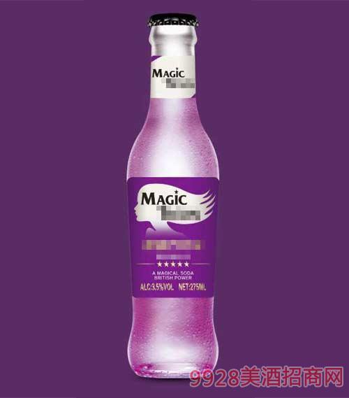魔力苏打酒紫
