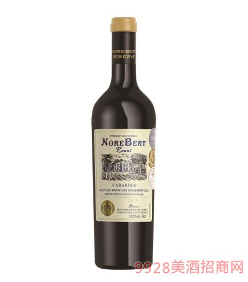 诺波特伯爵珍藏干红葡萄酒