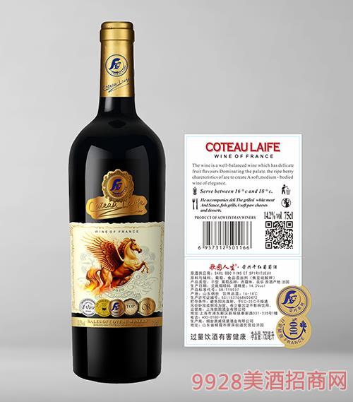 歌图人生荣兴干红葡萄酒14.2度750ml