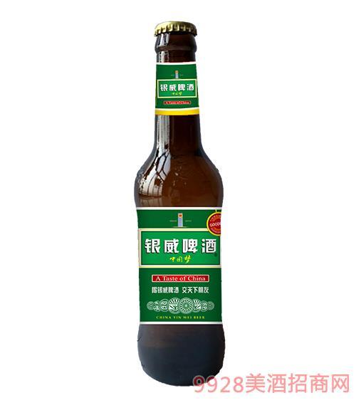 �y威啤酒中����A百威棕8度330ml
