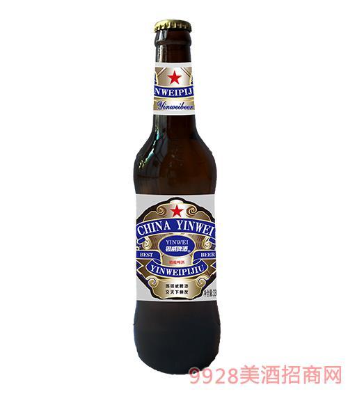 �y威啤酒�{百威棕330ml