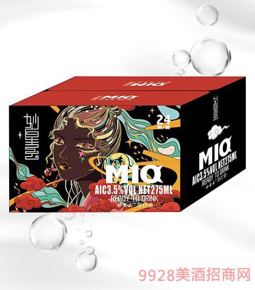 妙星云苏打酒(白)箱