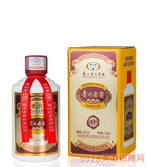 貴州老窖酒品鑒52度100ml