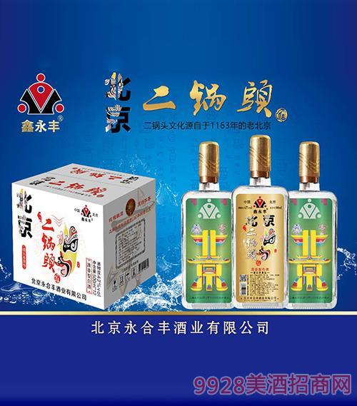 清香型鑫永丰北京二锅头酒42度500ml