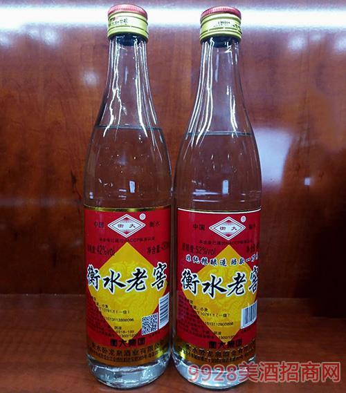 衡大衡水老窖酒42度500ml