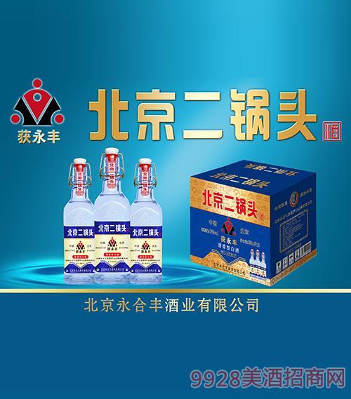 清香型获永丰北京二锅头酒42度52度500ml