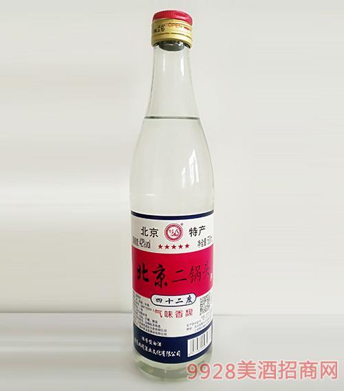 北京二鍋頭酒42度500ml