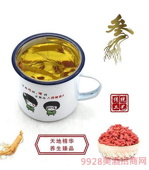 传统工艺茶缸酒