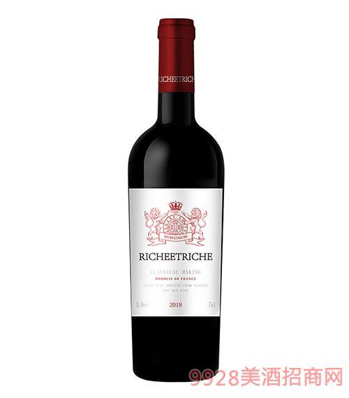富贵匜庄园·金质干红葡萄酒14.5度700ml
