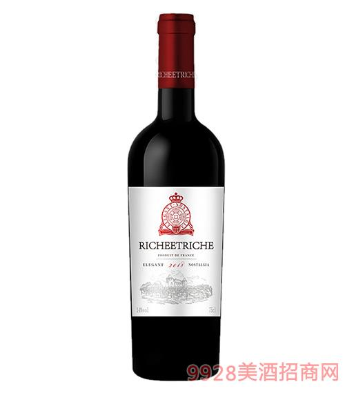 富贵匜庄园·上品干红葡萄酒14度750ml
