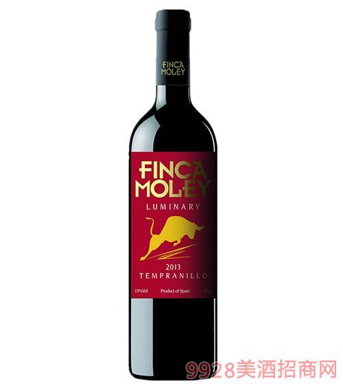 莫雷庄园豪杰干红葡萄酒13度750ml