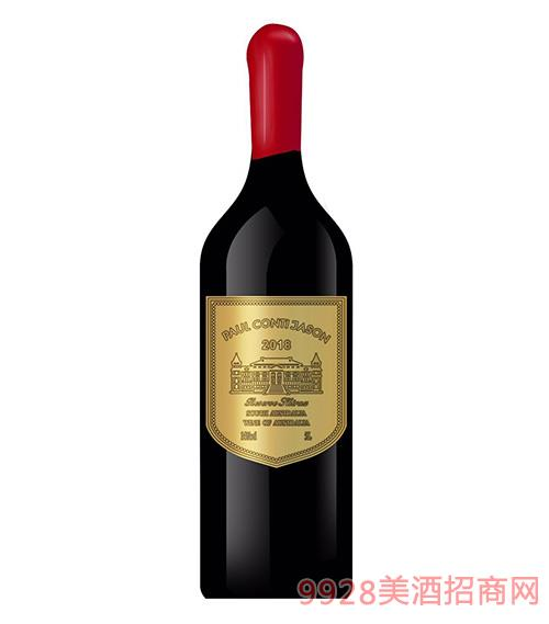 保罗康蒂杰特葡萄酒14度5L