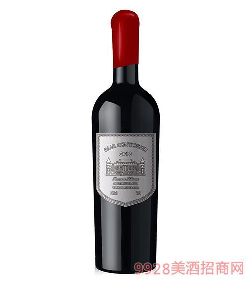 保罗康蒂杰特葡萄酒14度750ml
