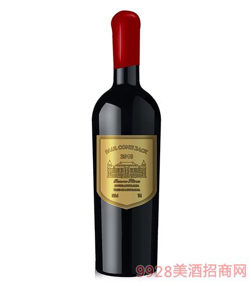 保罗康蒂杰克葡萄酒14度750ml
