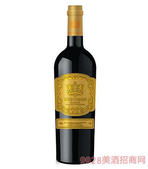 德索曼候爵干�t葡萄酒14.5度750ml