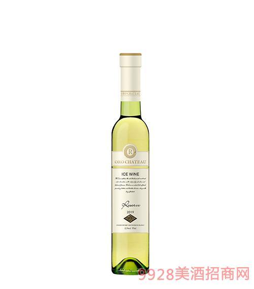 欧洛酒庄珍藏级冰白葡萄酒12.5度375ml