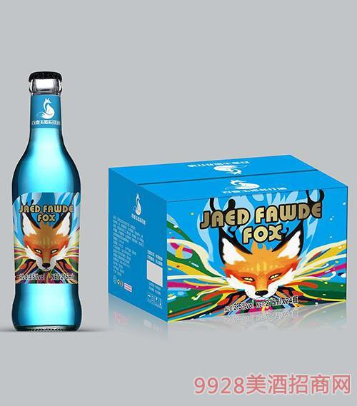 百变玉狐苏打酒3.5度275ml蓝瓶