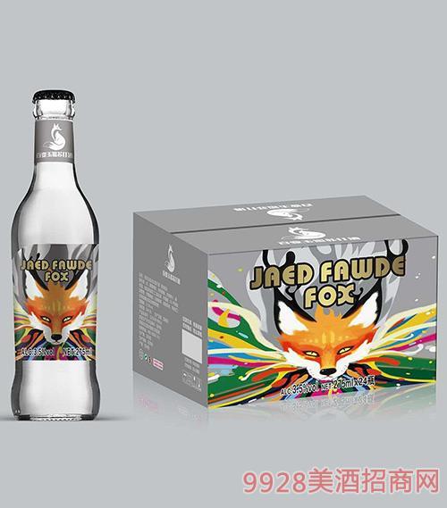 百变玉狐苏打酒3.5度275ml