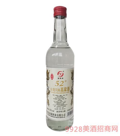 �_�筹L味高粱酒52度500ml白