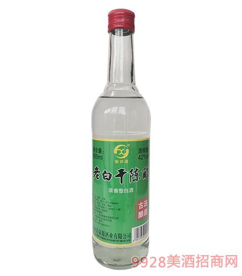 衡祥源老白干陈酿酒42度500ml