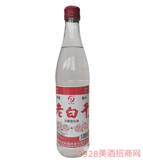 衡祥源老白干酒42度500ml�t��