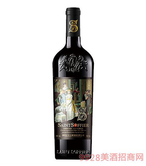 圣索菲��世家-公主干�t葡萄酒13度750ml
