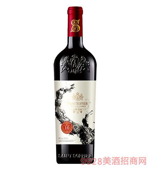 圣索菲尔·庄园干红葡萄酒-10年老树12.5度750ml