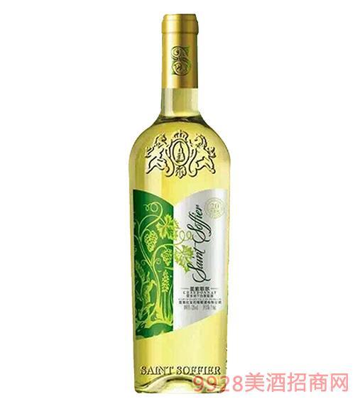 圣索菲��・霞多��干白葡萄酒-20年老��12.5度750ml