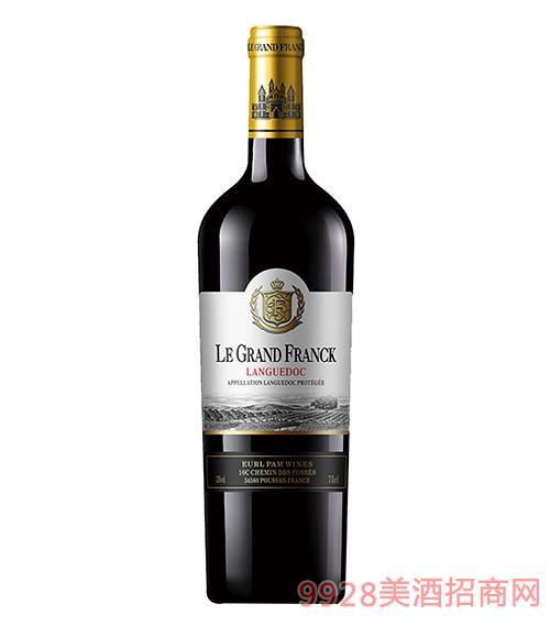 帕�{山谷干�t葡萄酒13度750ml