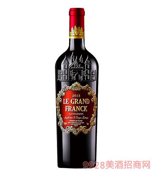 弗朗克金典干�t葡萄酒14.2度750ml