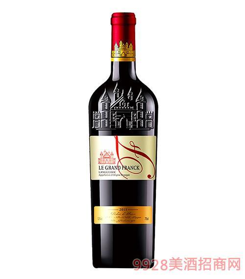 弗朗克朗格干�t葡萄酒13.5度750ml