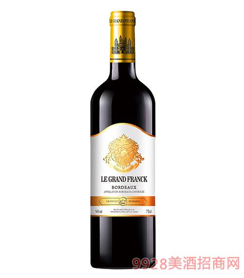 弗朗克曼蒂斯干紅葡萄酒13度750ml