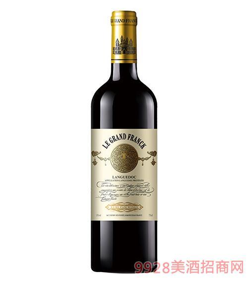 弗朗克曼菲干紅葡萄酒13度750ml