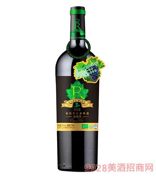 品鉴级有机干红葡萄酒13.5度750ml