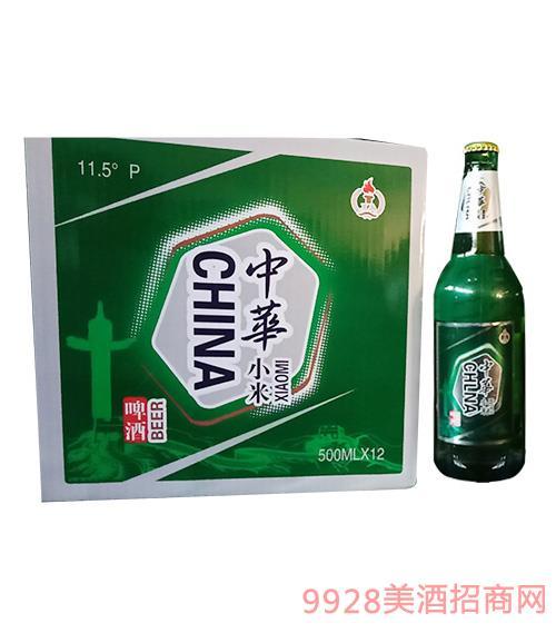 中华小米啤酒500mlx12