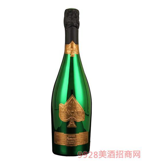圣卡罗纪念版苹果脱醇起泡酒0.5度