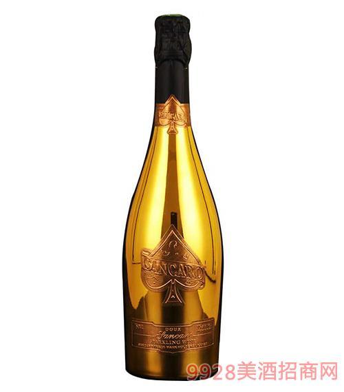 圣卡罗纪念版甜白起泡酒3.8度