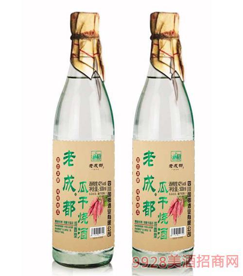 老成都瓜干��酒42度500ml�G��
