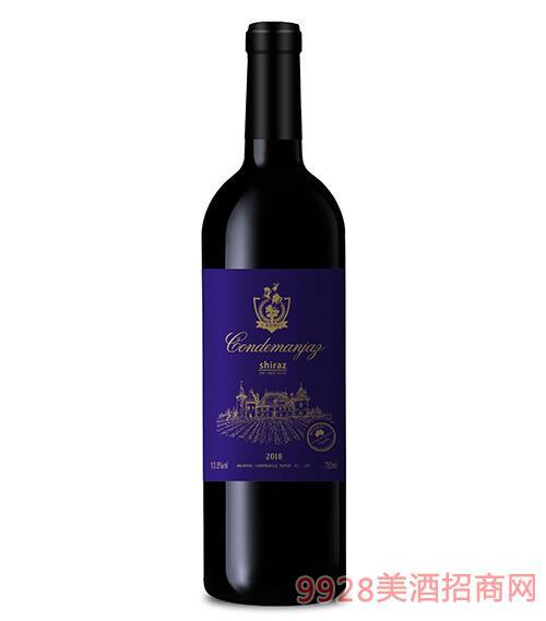 康蒂名爵古堡干�t葡萄酒13.5度750ml