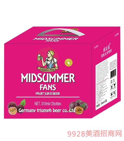 盛夏迷精釀水果啤酒310mlx12瓶