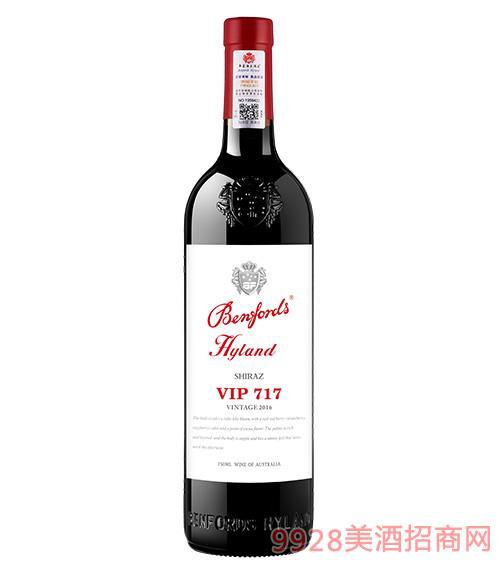 奔富海�m酒�fVIP717干�t葡萄酒