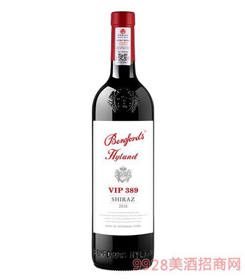 奔富海�m酒�fVIP389干�t葡萄酒