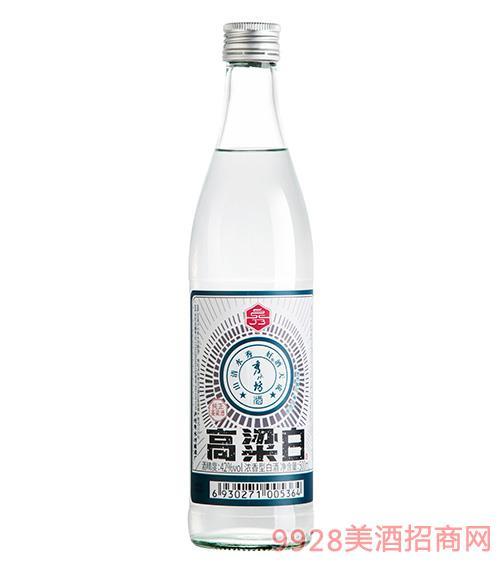 秀水坊高粱白酒42度52度500ml