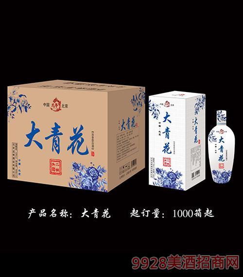 大青花二��^酒42度500ml